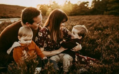 Summer Family Outdoor Photography